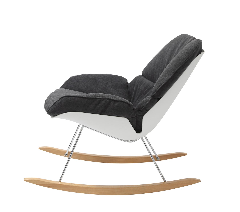 fotel Nino w kolorze czarnym