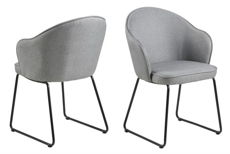 Krzesło Mitzie Szare
